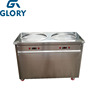 ZZ glory factory supply GL-F500N thailand fry ice cream machine roll /double pan fried ice cream machine