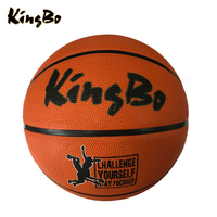 Promotion rubber made basketball size 7 cheap offical size rubber basketball