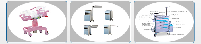 YFSC-CR04  Gynecological  Examination Bed