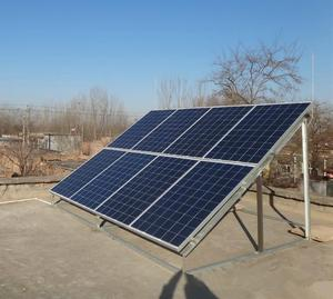 Home power solar system includes solar panel/ inverter/ controller/battery