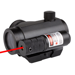 1x20 tactical red dot scope/military red dot sight/ for army airsoft with red laser