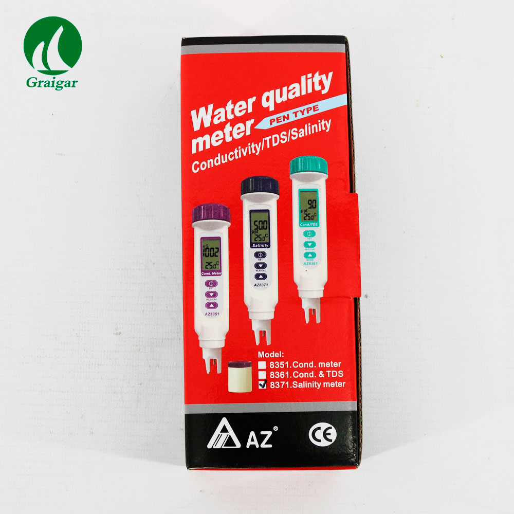 AZ8371 Salinity and Temperature Meter