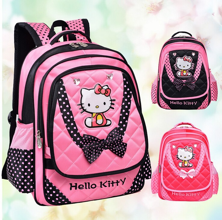 fcae44005bf6a أزياء الأطفال مرحبا كيتي حقيبة مدرسية للفتيات-حقائب مدرسة-معرف ...