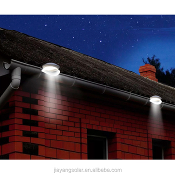 2018 New Solar Powered Garden Decorative Light LED Gutter Light Solar Fence Light Outdoor