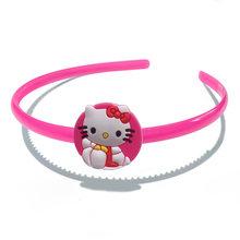 Эластичная резинка для волос, Детская повязка на голову, аксессуары для волос для девочек, 1 шт.(Китай)