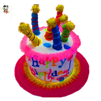 Miraculous Cheap Fancy Foam Happy Birthday Cake Party Hats Hpc 3319 Funny Birthday Cards Online Elaedamsfinfo