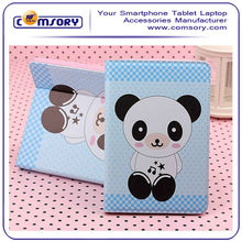 For iPad Air ipad 5 cute animal leather case lovely panda bear giraffe duck elephant frog cover