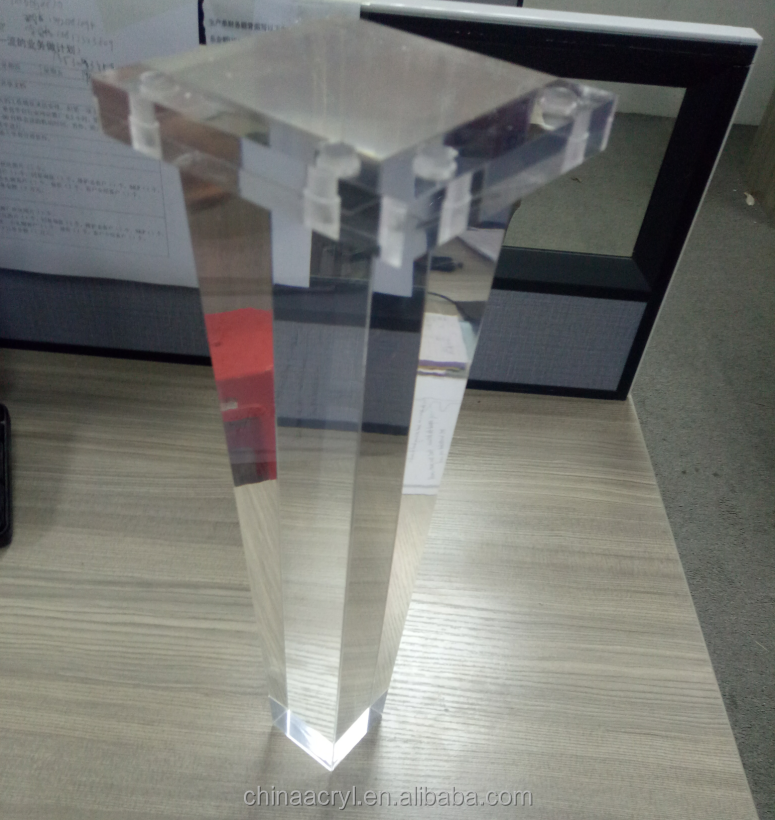 Clear Acrylic Furniture Legs, Clear Acrylic Furniture Legs Suppliers And  Manufacturers At Alibaba.com
