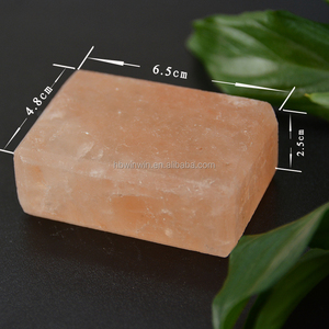 Himalayan Crystal salt bath soap Organic handmade Salt bar