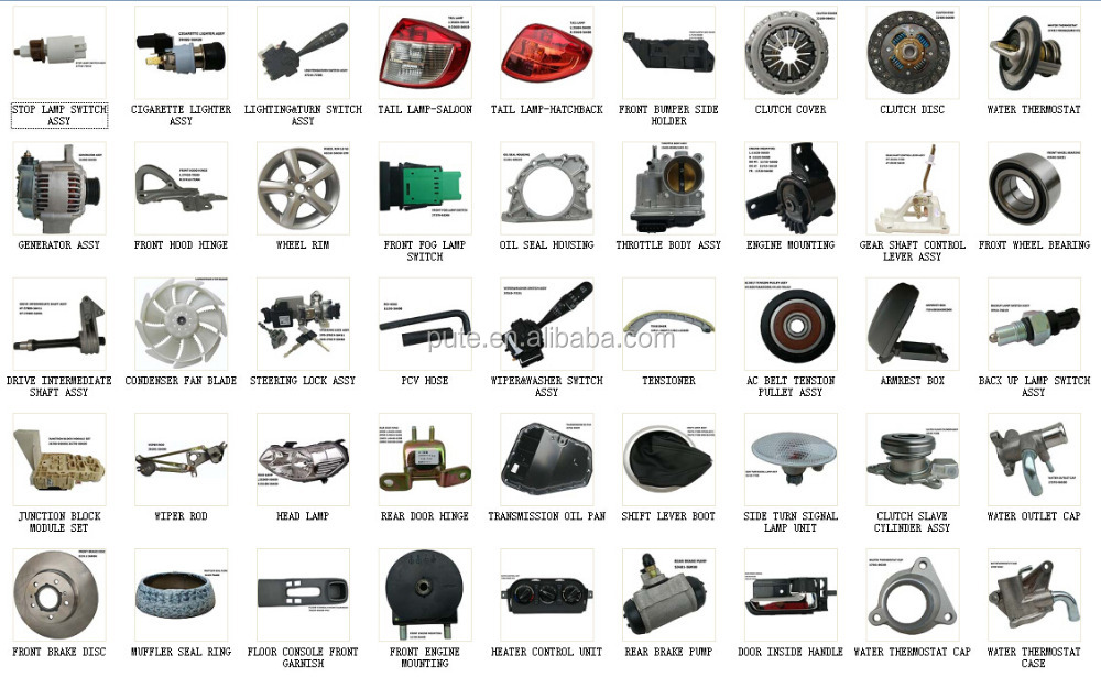 car parts names with pictures replacement car spare parts 54401 56k00 54402 56k00 11970