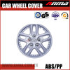 New design Auto wheel cover chrome hubcaps silver ABS plastic wheel covers