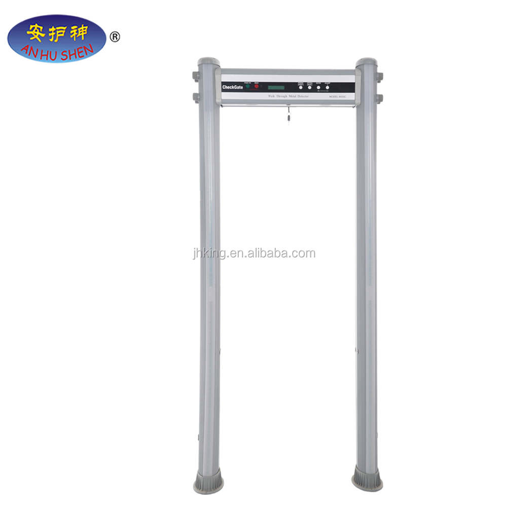 airport security equipment18 zone alarm metal detector gate