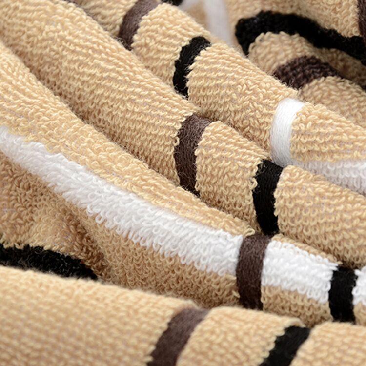 manufacturers wholesale new fashion comfortable grid cotton towel sets
