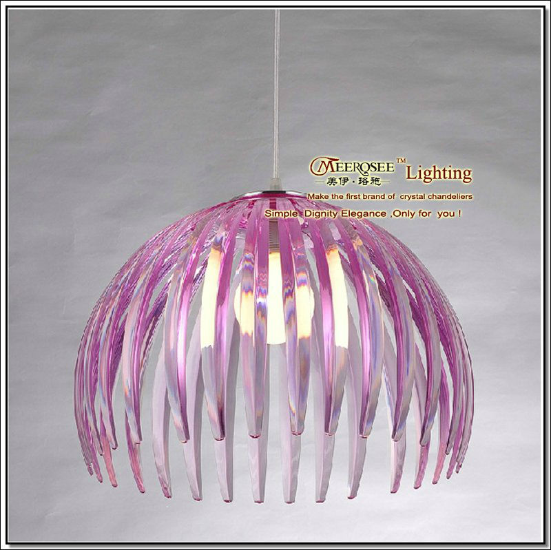2013 Special shade colored acrylic pendant lamp MD2005-L1