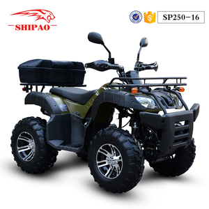 SP250-16 Shipao off road shaft drive tracked atv