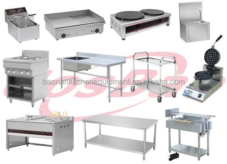 Simple Kitchen Equipment