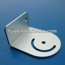 L Shaped Anodized Aluminum Bracket for Lamp Accessories, sheet stamping part