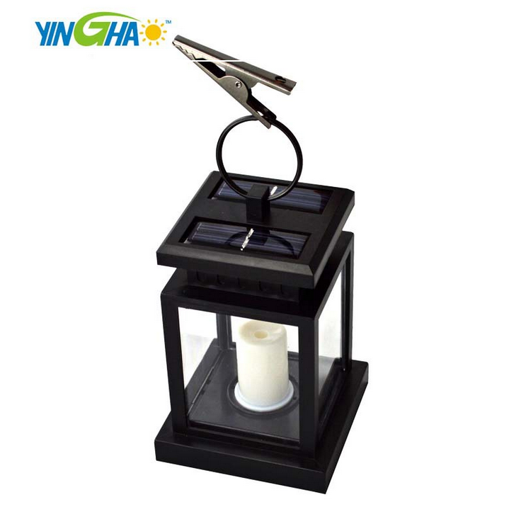 stock items LED solar parasol candle light,cemetery lamp,solar lantern YH0810