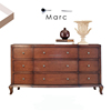 European modern chest of drawers high-end bedroom furniture