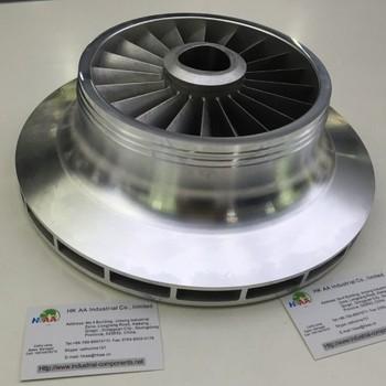 High Precise 5 Axis Cnc Milling Aluminum Jet Pump Impeller