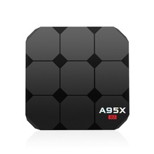Vendita calda A95X R2 <span class=keywords><strong>Android</strong></span> TV BOX Rockchip 3228 <span class=keywords><strong>Android</strong></span> 7.1 1G RAM 8G ROM WiFi 4 K Caricato 1080 p intelligente top box EU/US plug
