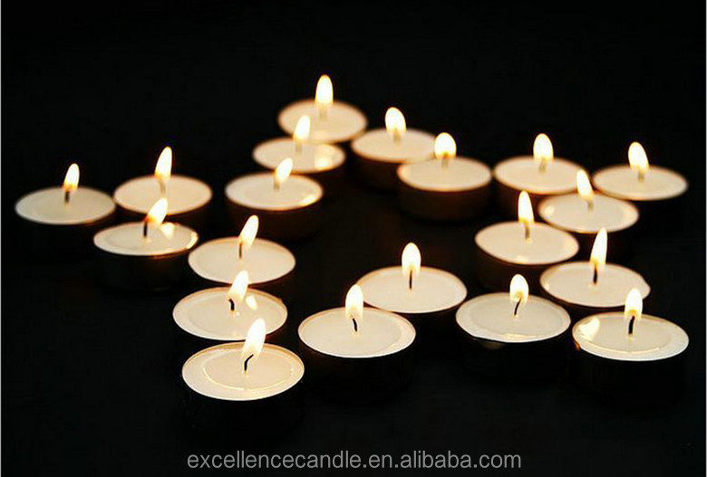 white tealight candle/ 2015 factory hot sale minin tealight candle