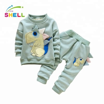 ef03be842a57 Asian Clothing 2pcs Sets Baby Outfits 95% Cotton 5% Spandex Autumn ...