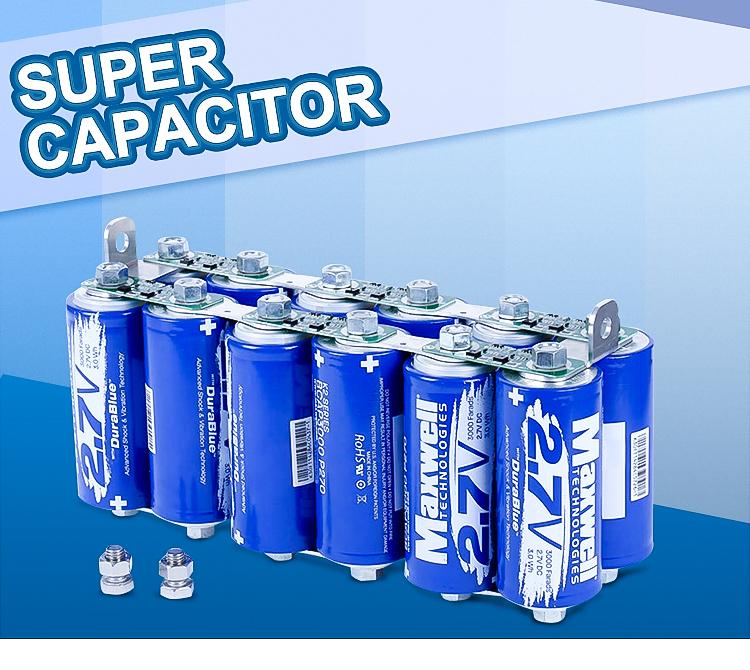 Graphene Super Capacitor 16V 1000F MAXWELL DuraBlue Farad