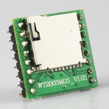 Custom high quality 32G MP3 voice integrated circuit module with SD card slot
