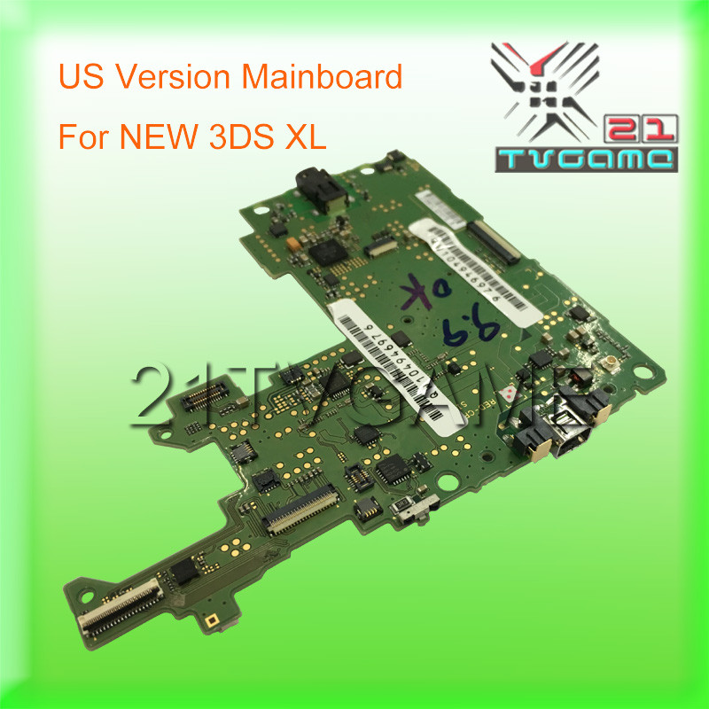 100% Original Disassembled(Used) Motherboard US Versio For NEW 3DS XL,Game Repair Parts Mainboard For New 3DS XL
