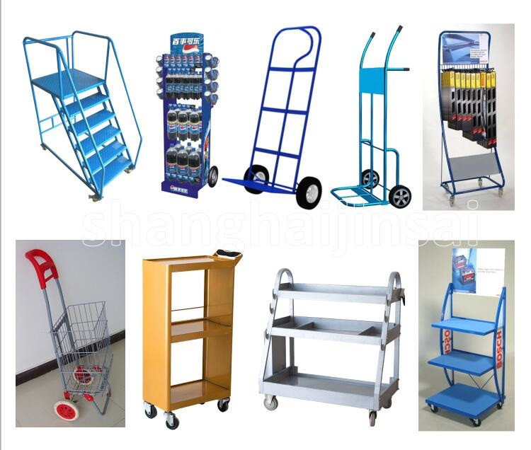 Professional Manufacturer High Grade Big Capacity Showcase Shopping Toy Cart