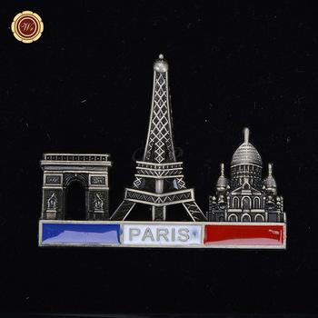 Wr Gifts Shop Creative Metal Refrigerator Magnet Famous France Paris ...