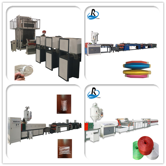 Single screw design automatic plastic packing strap production line pp twine machine