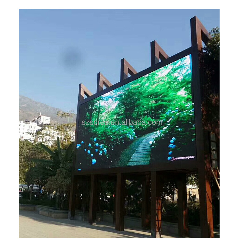 Outdoor electronics digital advertising billboard P10 <strong>led</strong> <strong>display</strong>
