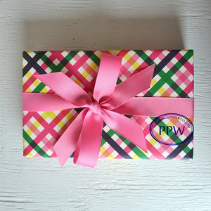 Using for Gift Box Packed Paper with Streak Printed Wrapping Paper