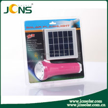 JCNS Solar LED Camping Light, solar lantern for lighting, solar torch with mobile phone charger