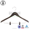 Hotel Wholesale Cheap Wooden Kids Hangers With Metal Clip for Suits