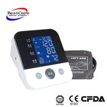 Good CE FDA quality Oscillometric Wrist Digital Blood Pressure monitor for family and personal care