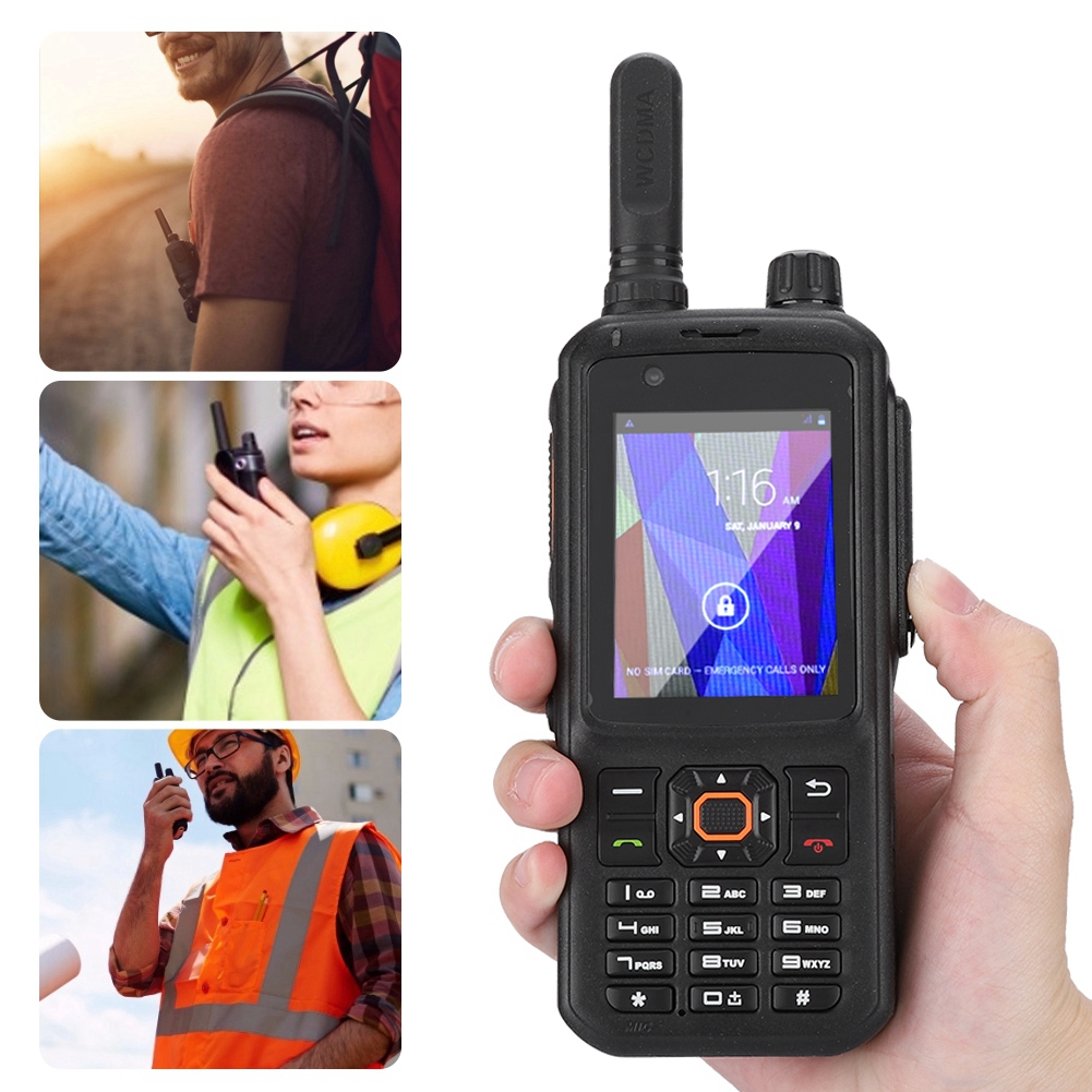 2G/3G/4G LTE Android telefone Móvel Com o Zello Walkie talkie talk Walkie GSM Global talkie 100 Milhas T 298 S