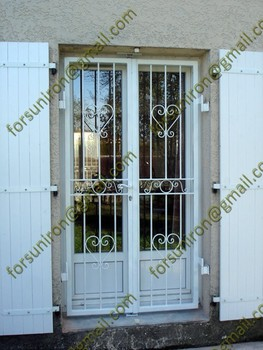 Exterior cheap iron doors for sale outdoor wrought iron for Cheap external doors for sale