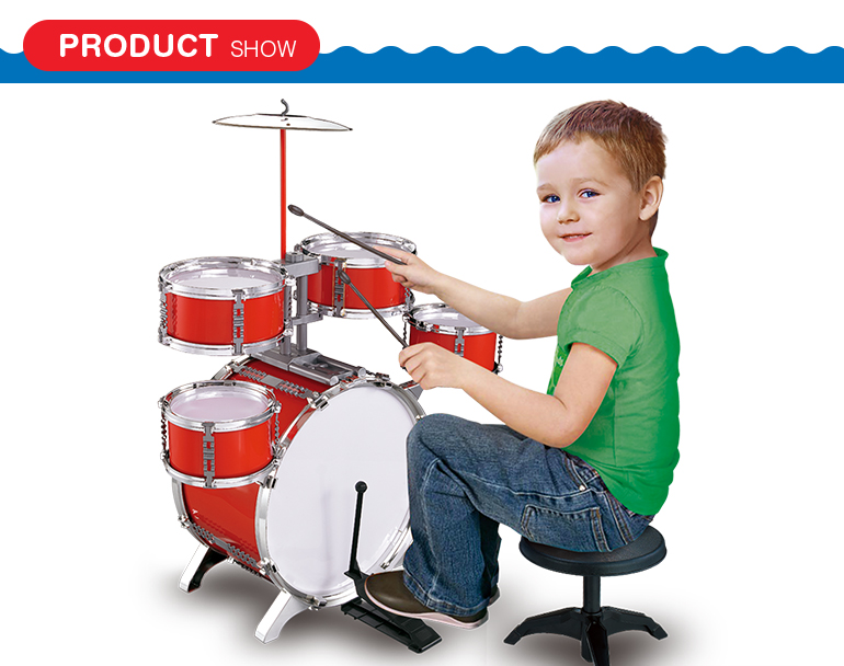 new preschool children plastic musical instrument jazz drum toys for sale