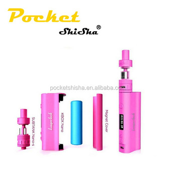 Hot in amazon e cigarette subox nano smoke hookah pen