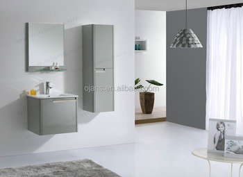 600mm High Glossy Lacquered Sanitary Ware Modern Cabinet Bathroom