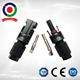 CE certificate Male and female PPO material 2 pin waterproof ningbo mc4 connector