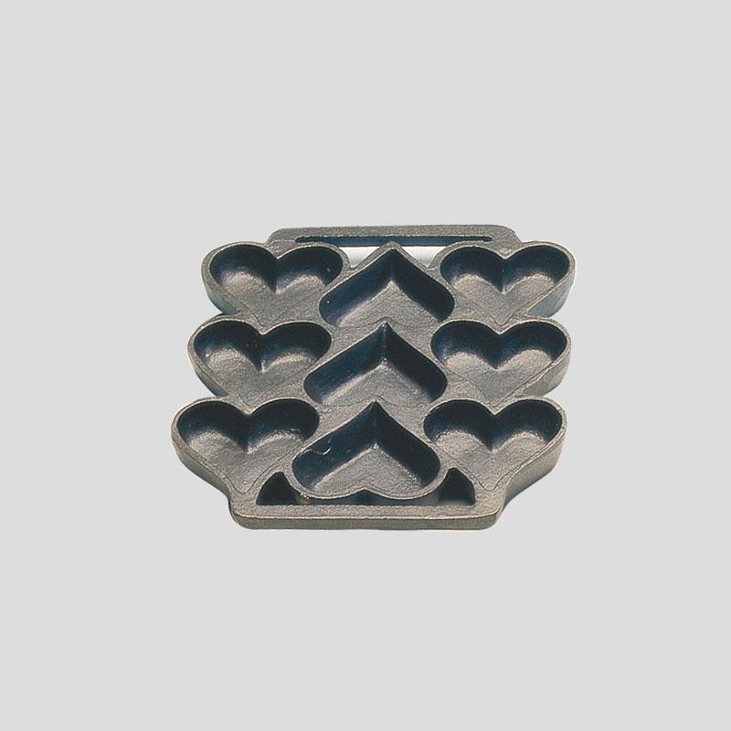 Besi Cor Peralatan Masak Mini Muffin Roti Jagung Pan Digunakan-Seasoned Cast Iron Pan Kue untuk Kue Biskuit