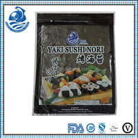 Certified Top Factory Sushi Raw Material 10 Sheets Sushi Nori