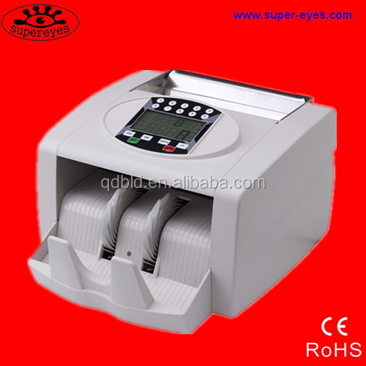 Intelligent mixed bill counter value counter counterfeit money counter