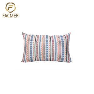 High Quality Colorful Rectangle Jacquard Cushion Cover