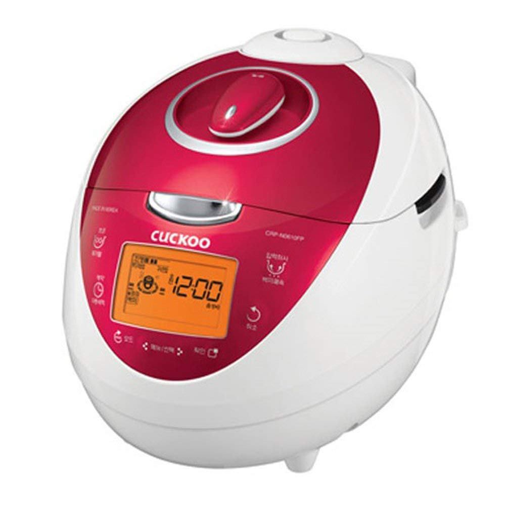 Cuckoo CRP-N0610FP Electric Pressure Rice Cooker 6 Cups 220V English Manual & KEY RING