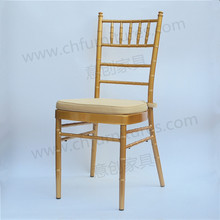 YC-A48C Sale aluminum chiavari with cushion hotel wedding and event silla tiffany chairs with pillow